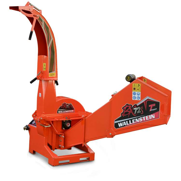 Wallenstien BX72S Wood Chipper